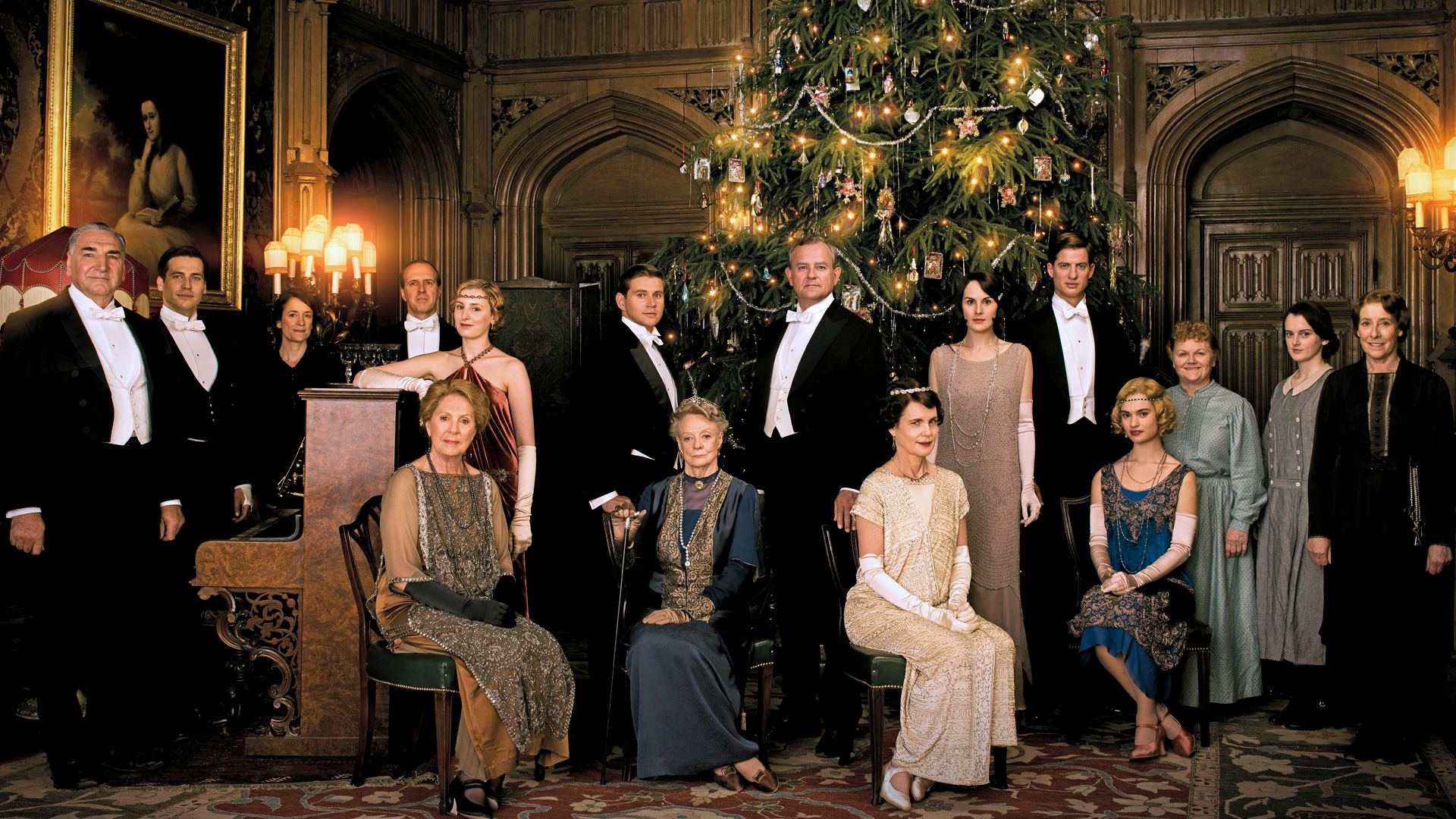 downton abbey le film tir de la s rie a une date de sortie. Black Bedroom Furniture Sets. Home Design Ideas
